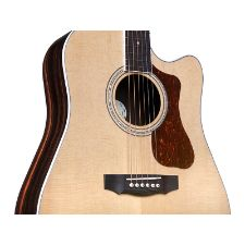 Guild D 260CE Deluxe Westerly Collection 6 String Acoustic Electric Guitar 1