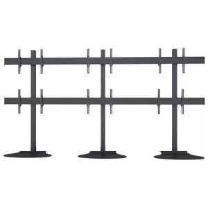 support 3x2 stand alone floor standing video