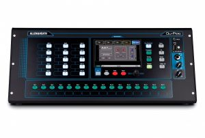 Touchscreen Compact Digital Mixer